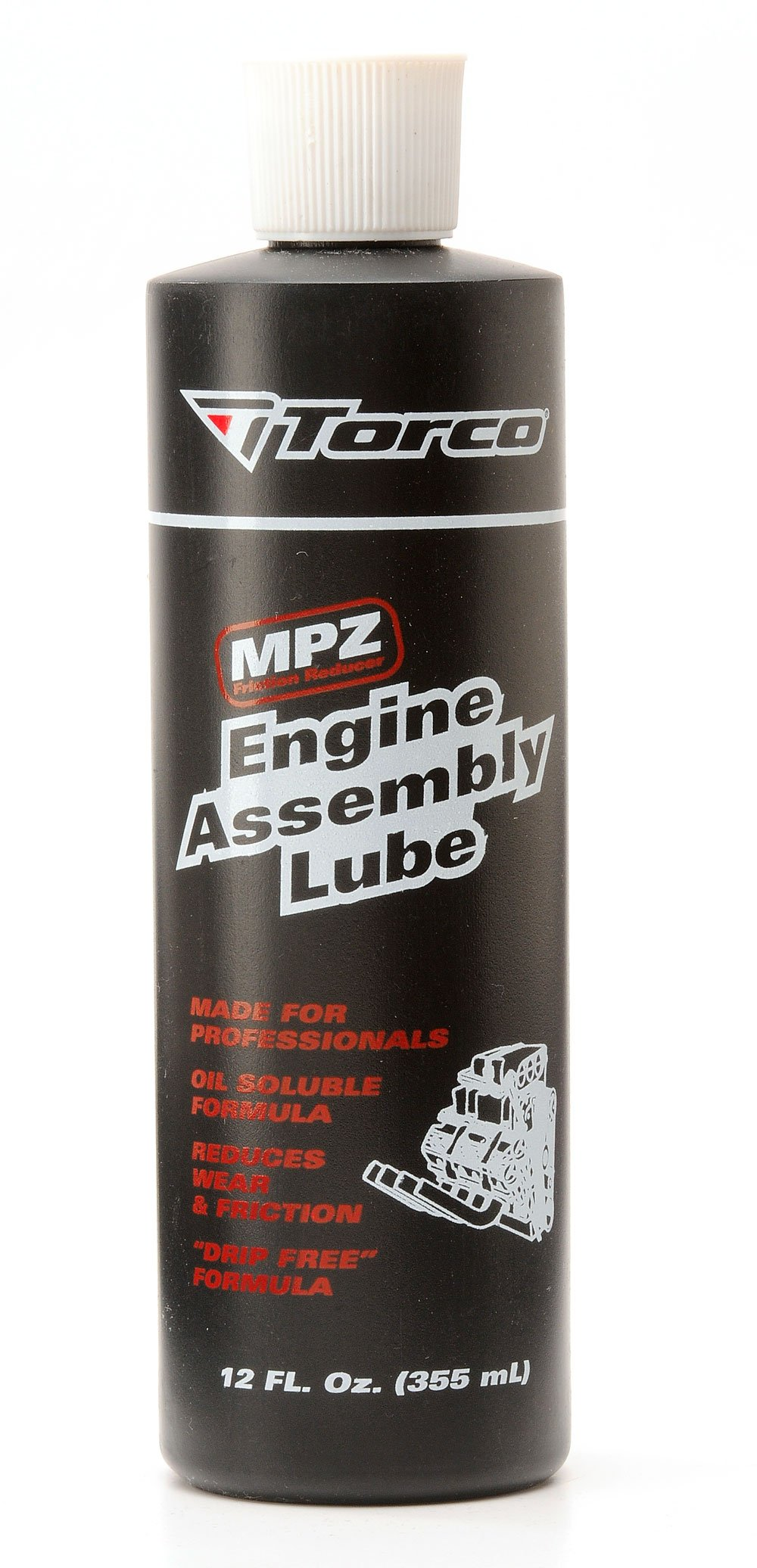 Torco A550055K MPZ Engine Assembly Lube Tube - 12 oz, (Case of 12) by Torco