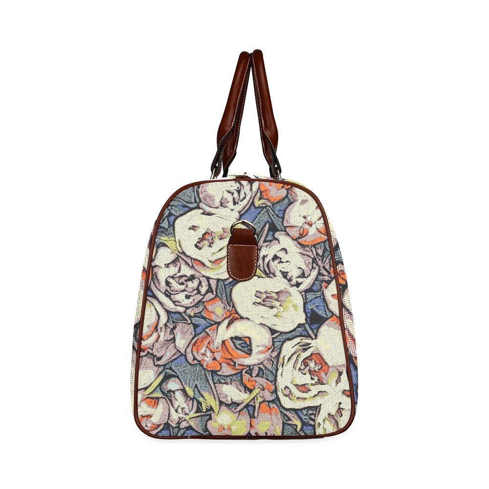 Floral Art Studio Custom Waterproof Travel Tote Bag Duffel Bag Crossbody Luggage handbag