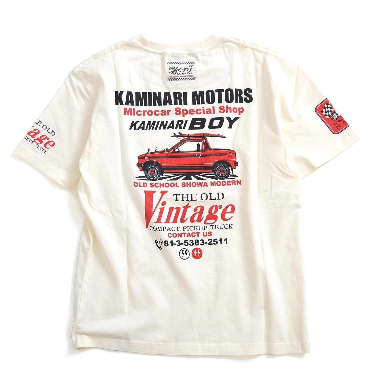 KAMINARI MOTORS「KAMINARI BOY」Tシャツ