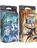 BOTH Pokemon TCG Sun & Moon Burning Shadows Theme Decks - Ninetales & Lycanroc