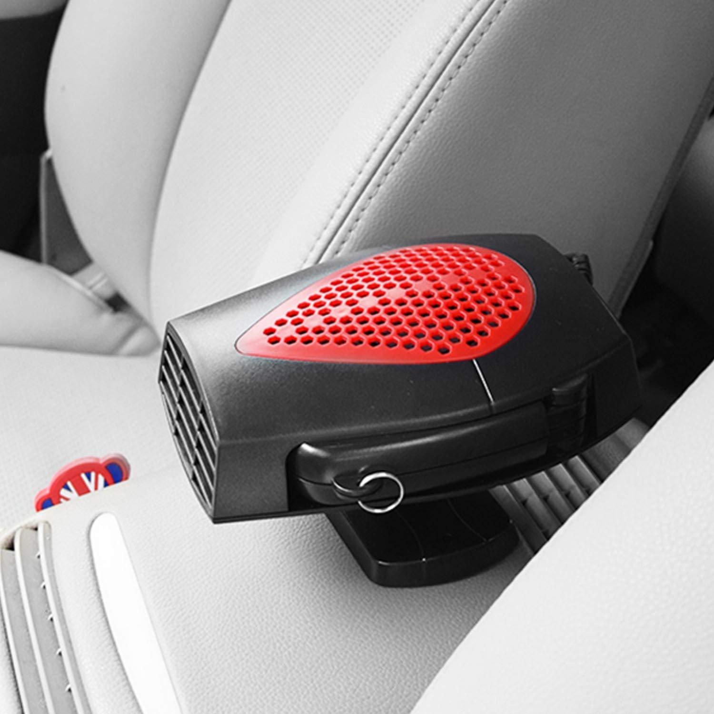 Vococal Riscaldatore per Auto Auto Riscaldatore stufetta Auto 12 Volt Ventola Riscaldatore Auto Veicolo Elettronico Riscaldamento Raffreddamento Sbrinamento Defogger Demister