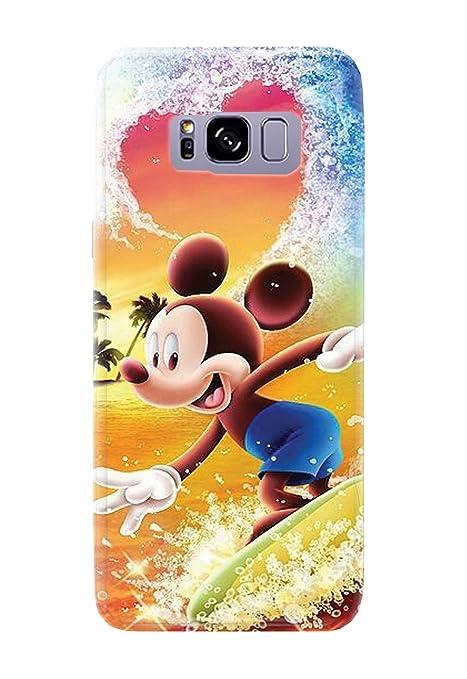 Case Me Up - Carcasa para Samsung Galaxy S8, diseño de Mickey Mouse Sweet Disney Cute 20