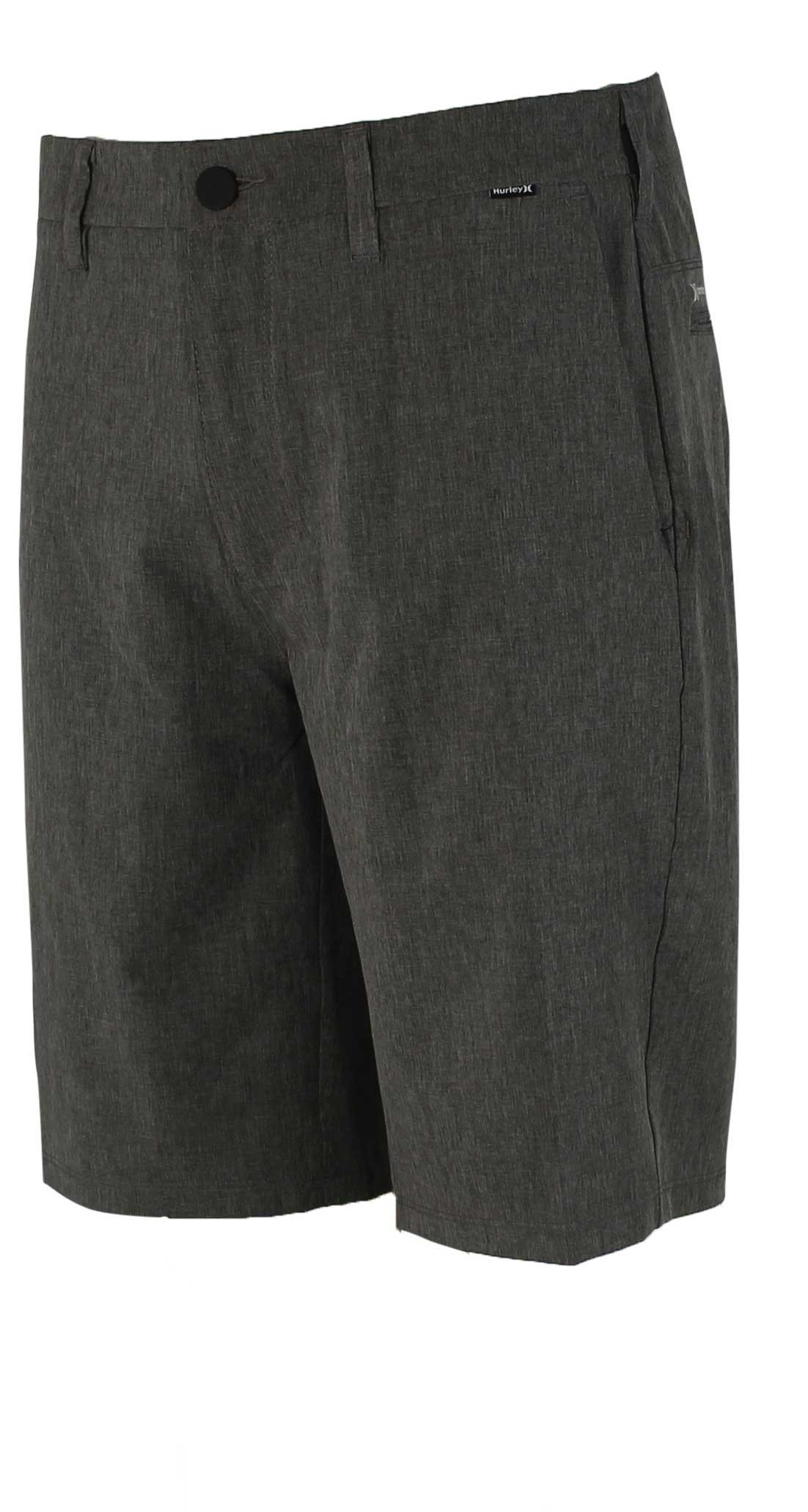Hurley Men's Phantom 20'' Walkshorts, Black Heather, 38