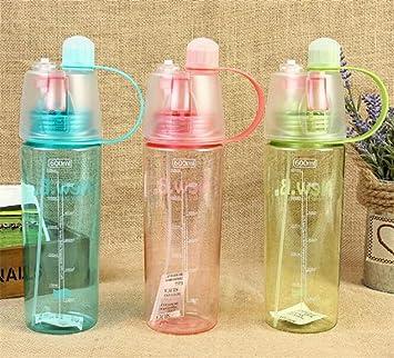 Deportes botella de agua, botella de Spray para ciclismo botella de agua libre de BPA