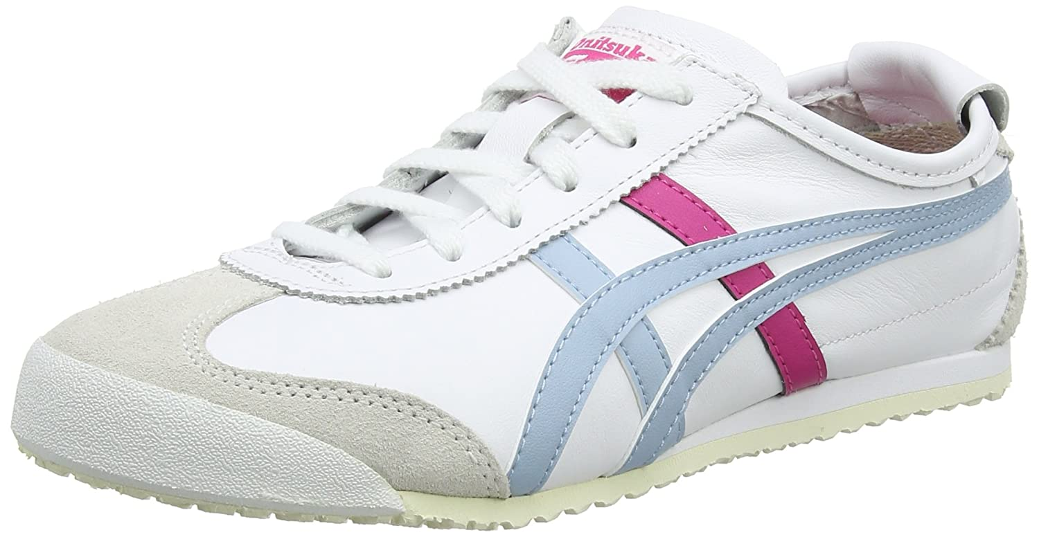 Asics Damen Onitsuka Tiger Mexico 66 Sneaker  39.5 EU|Wei? (White/Smoke Light Blue 0140)