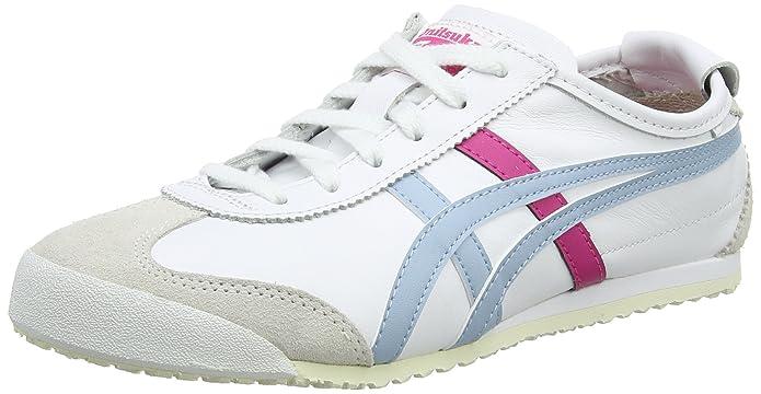 Asics Damen Onitsuka Tiger Mexico 66 Sneaker  Wei? (White/Smoke Light Blue 0140)