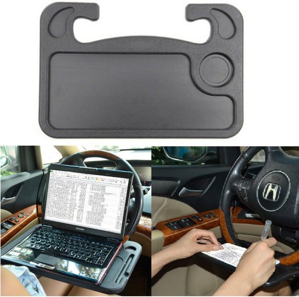 Coolper Support en plastique pour ordinateur portable avec porte-gobelet pour voiture
