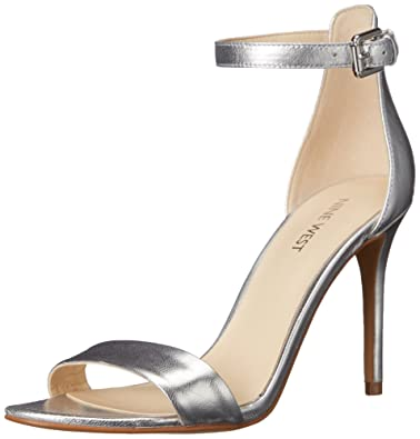 47460e46ed41 Nine West Women s MANA Metallic Heeled Sandal