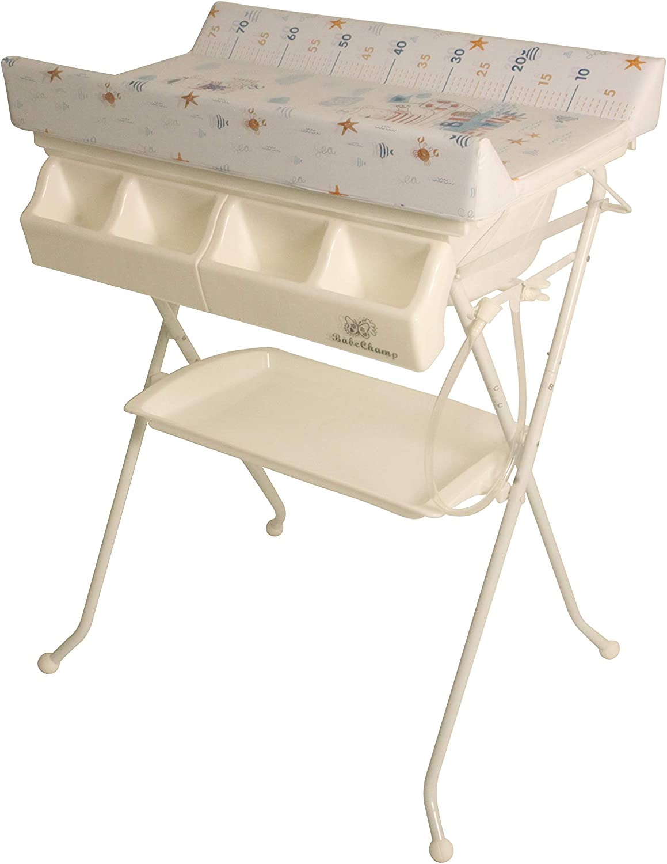 - BabeChamp I-Bath Foldable Baby Changing Table Folding Baby Bath