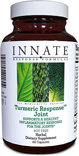 INNATE Response Formulas, Turmeric Response Joint, Supports Healthy Joint Inflammation Response, 60 Capsules 30 Servings
