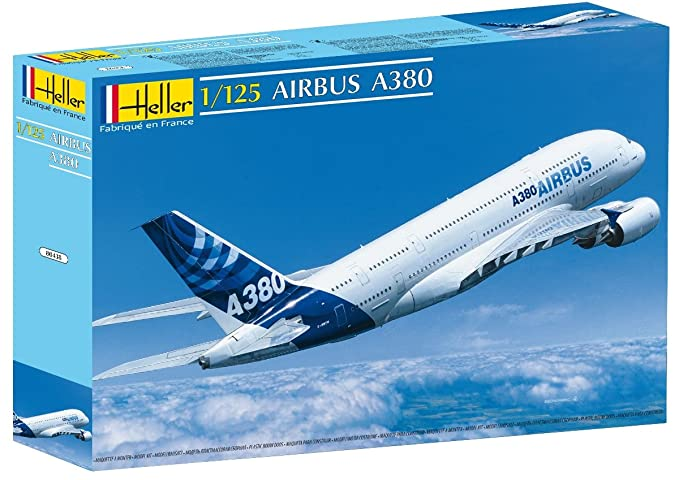 Heller A-380 Airbus Airplane Model Building Kit