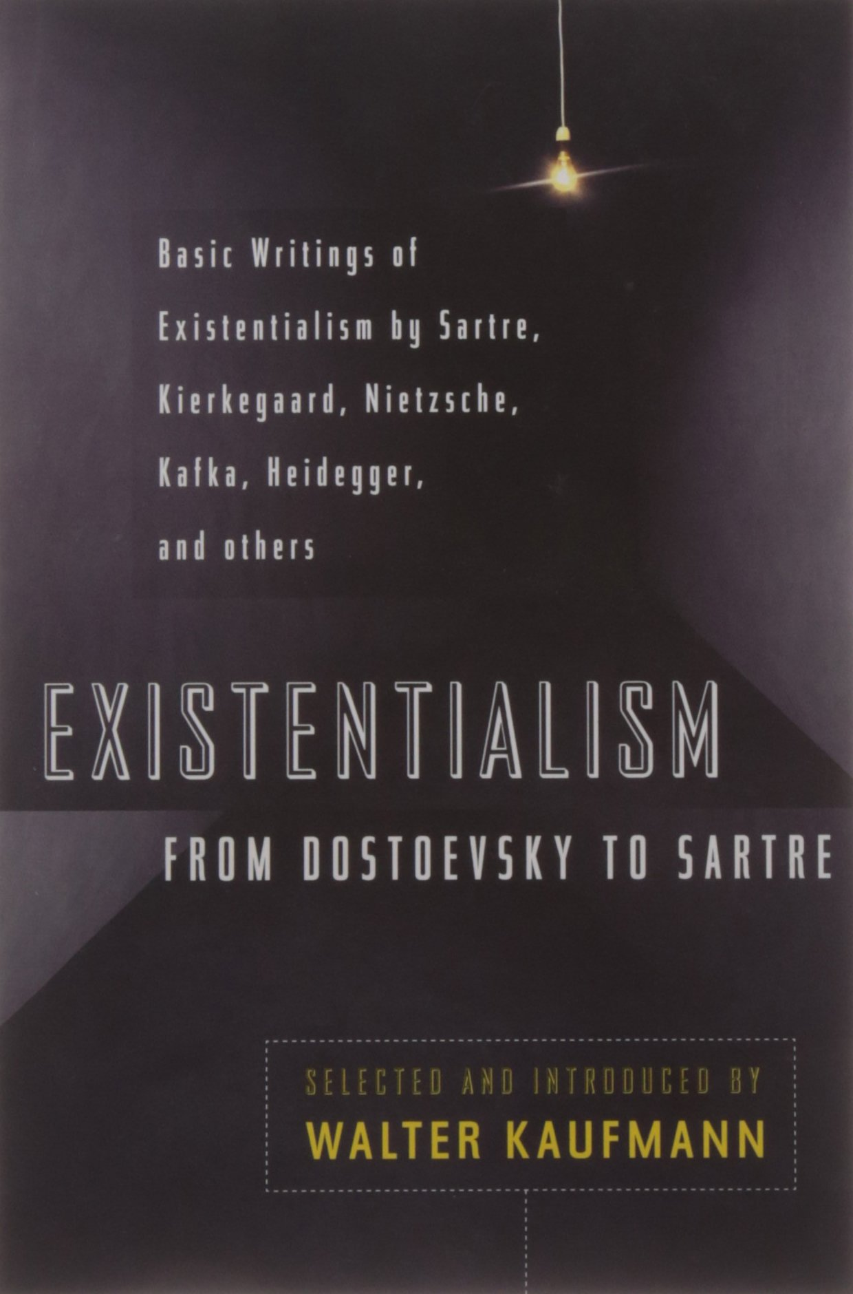 existentialism from dostoevsky to sartre basic writings of existentialism from dostoevsky to sartre basic writings of existentialism by kaufmann kierkegaard nietzsche jaspers heidegger and others walter