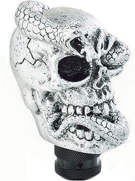 Vehicle Car Skull Head Manual Transmission Gear Shift Knob Skull Shifter Lever