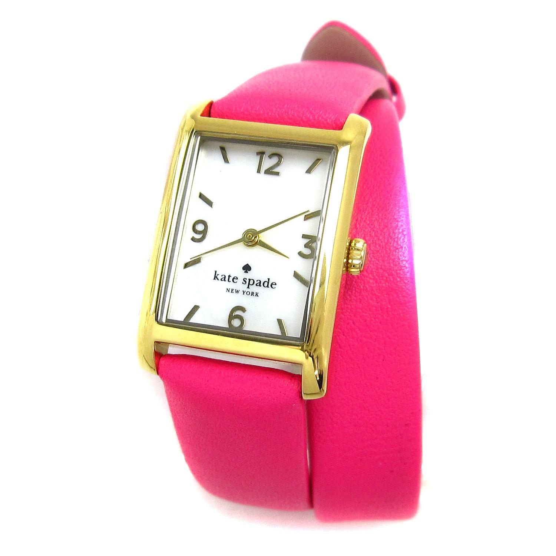 [ケイトスペード]Kate spade 腕時計 クーパー マザーオブパール ピンク 2重巻きストラップ 未使用 レディース 中古 B07DB16JXM