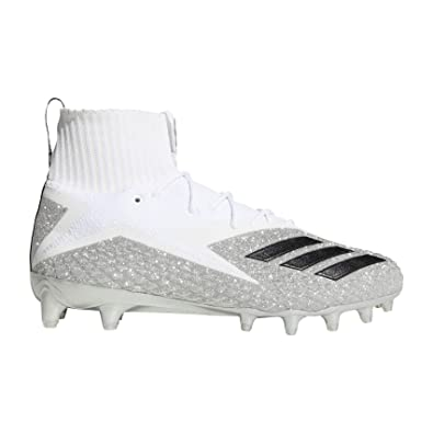 a85b1937d adidas Men's Freak Ultra PK Von Football Cleats (13, White/Silver)