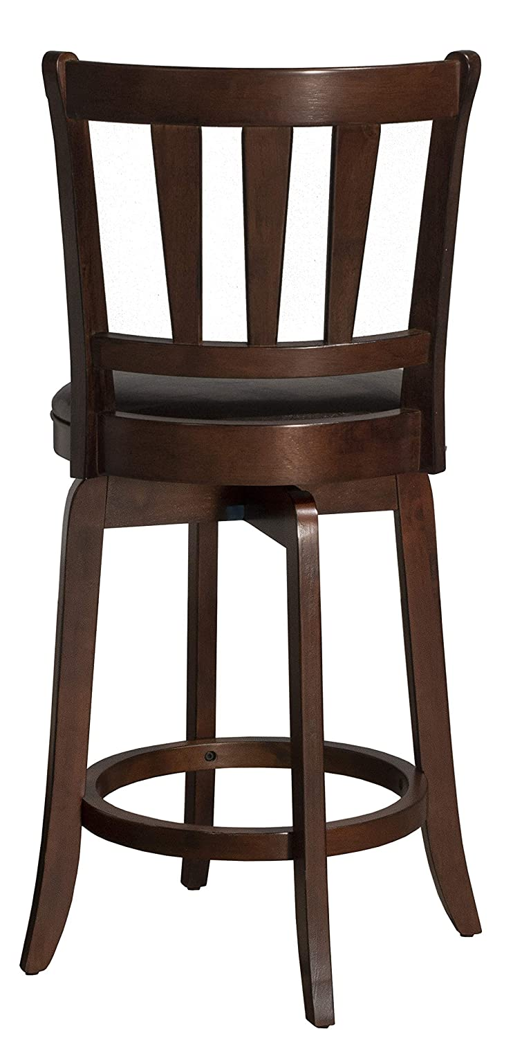 Hillsdale Furniture 4478-827 Hillsdale Presque Isle Swivel Counter Stool, Height, Cherry