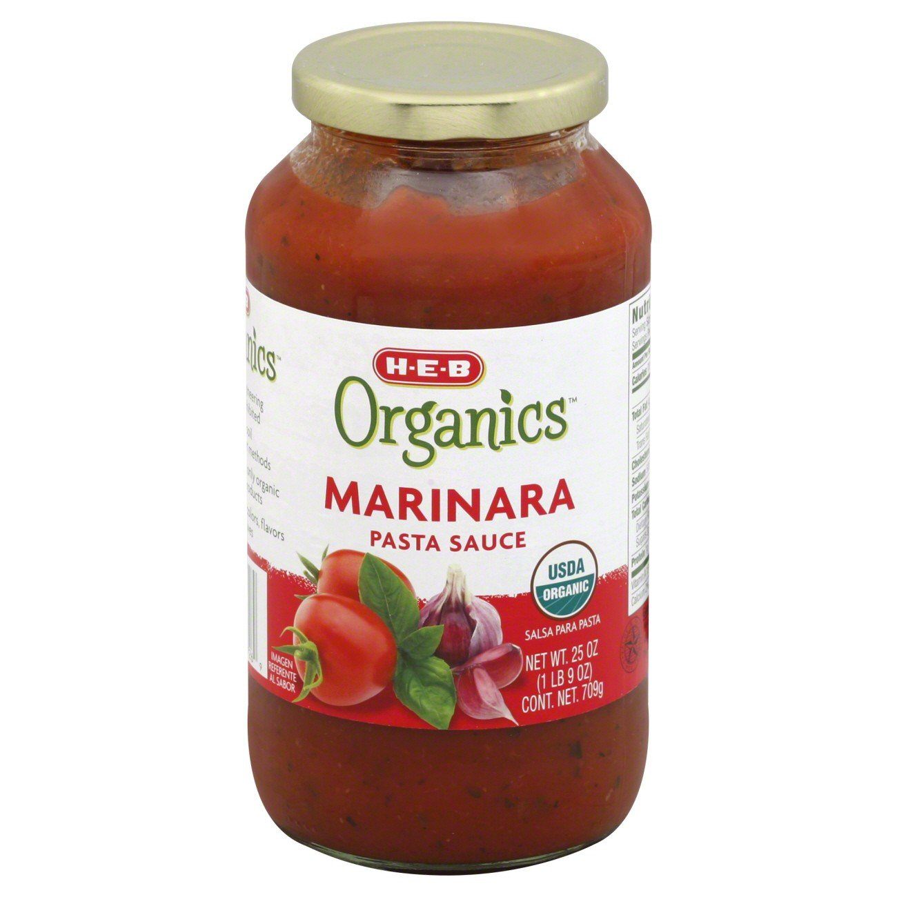 Organics Marinara Pasta Sauce 25 OZ (Pack of 9) + (6 Pack of M&M Milk Chocolate 1.69oz): Amazon.com: Grocery & Gourmet Food