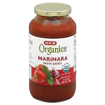 Organics Marinara Pasta Sauce 25 OZ (Pack of 9) + (6 Pack of