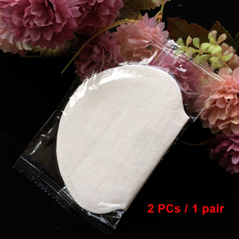 Ochine Armpits Sweat Pads for Underarm Gasket from Sweat Absorbing Pads for Armpits Linings Disposable Anti Sweat Stickers