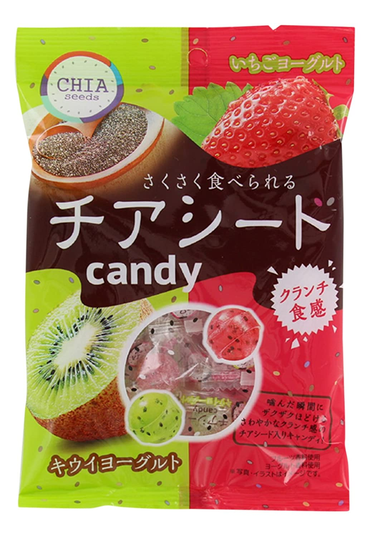 Ltd. Mon giro quebradizo comer caramelos Chia semillas (80g ...