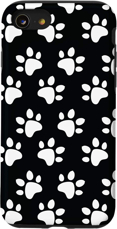 iPhone SE (2020) / 7 / 8 Dog Paw Print Animal Cute Pet For Girls Boys Women Men Gift Case