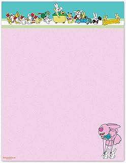 NEW Teddy Bear On Carousel Letterhead Stationery Paper 26 Sheets