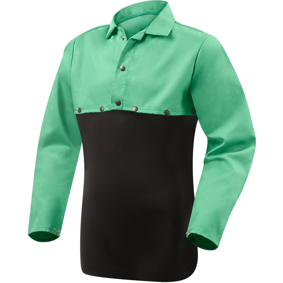 Steiner 1032-L Cape Sleeve, Weldlite Green 9.5-Ounce Flame Retardant Cotton, Large