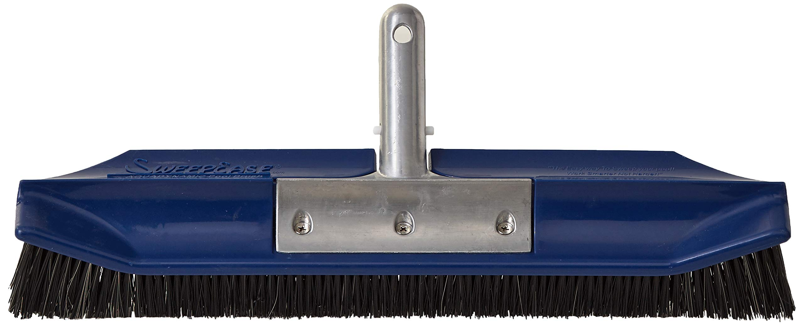 SweepEase SS/Poly Blend Brush AquaDynamic Pool Brush, 18-Inch by SweepEase
