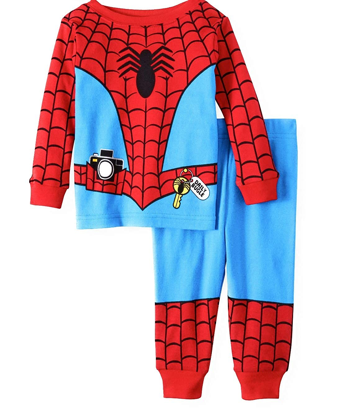 Spiderman Baby Boy Pajamas Tight Fit