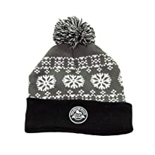 Coors Light Unisex Roll Up Knit Winter Beanie (Silver Bullet)