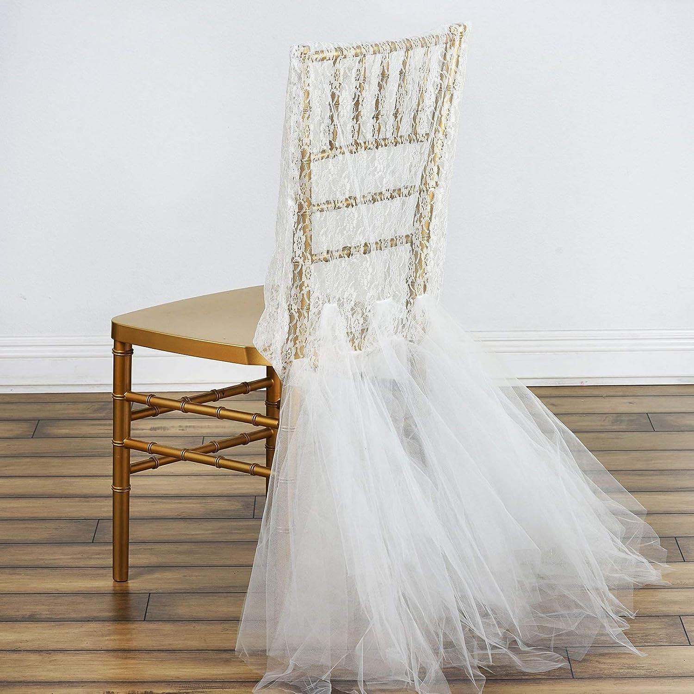 Amazon.com: efavormart novia boda fiesta encaje y tul Tutu ...