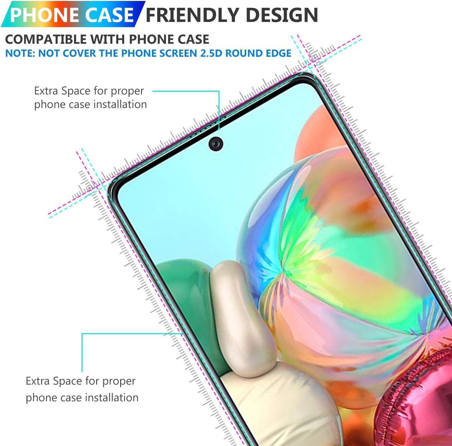 4G Luibor f/ür Samsung Galaxy A71 Panzerglas+Kamera Panzerglas,Transparent Anti-Kratzer Anti-Staub Anti-/Öl Anti-Bl/äschen Geh/ärtetem Glas Displayfolie Schutzfolie f/ür Samsung Galaxy A71
