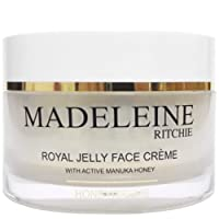 Madeleine Ritchie HoneyCreme New Zealand Royal Jelly Face Cream with active manuka...