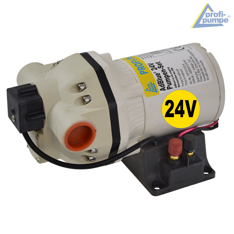 AdBlue/® 230V AdBlue/®-Fass-Pumpe Set 230V Harnstoffpumpe Urea Pumpe Betankungsset Membranpumpe Chemiepumpe Fasspumpe