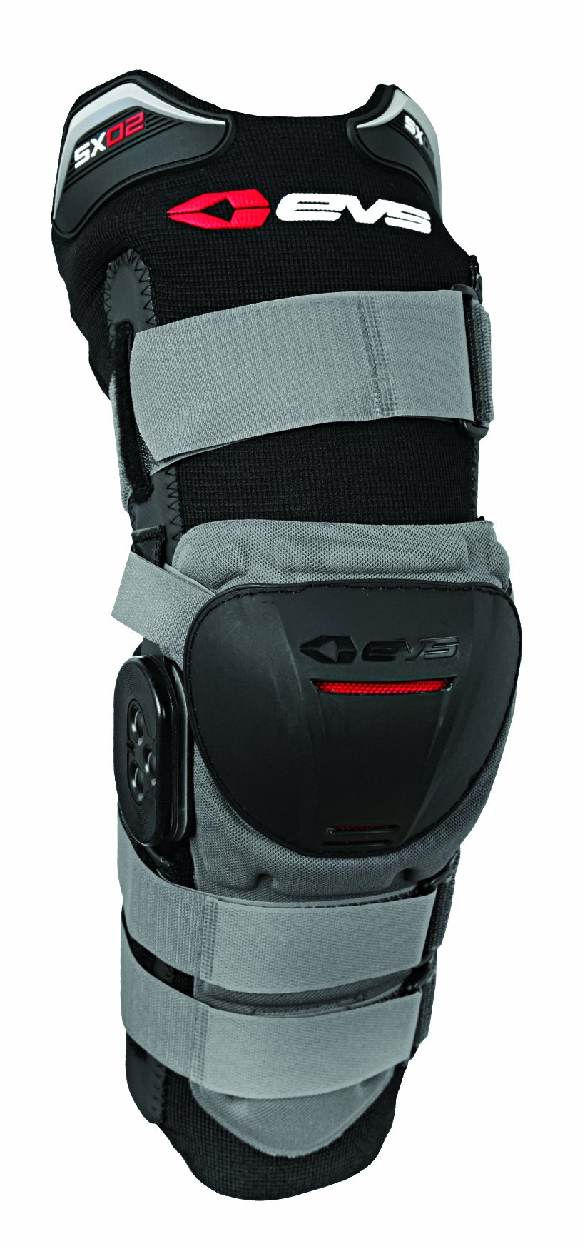 EVS Sports SX02 Knee Brace (Grey/Black, X-Large)