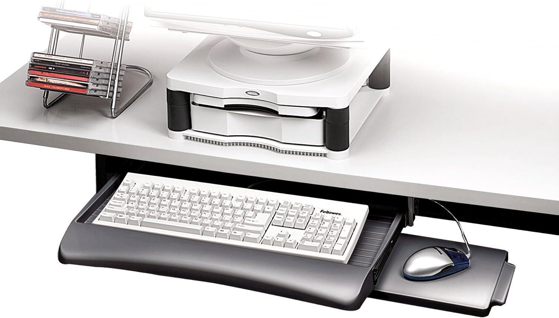 Fellowes 93804 - Bandeja para teclado con altura ajustable y ...