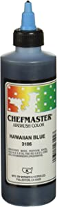 Chefmaster Airbrush Spray Food Color, 9-Ounce, Hawaiian Blue,751704 3186