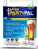 AfterPartyPal - Natural Hangover Relief & Hangover Prevention ● 5-PACK Hangover Pills Detox Kit ● Enhance your body's ability to metabolize toxins ● Replenish & Revitalize ●100% Money Back Guarantee!
