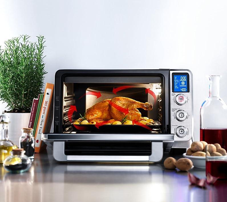 DeLonghi EO241250M Livenza 0.8 cu ft Digital True Convection Oven ...