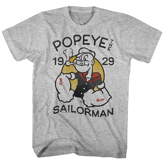 Black, 7 Popeye Hardcore Little Boys Juvy Shirt