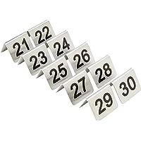 Nextday Catering u048mesa números, juego de 10, 21–30
