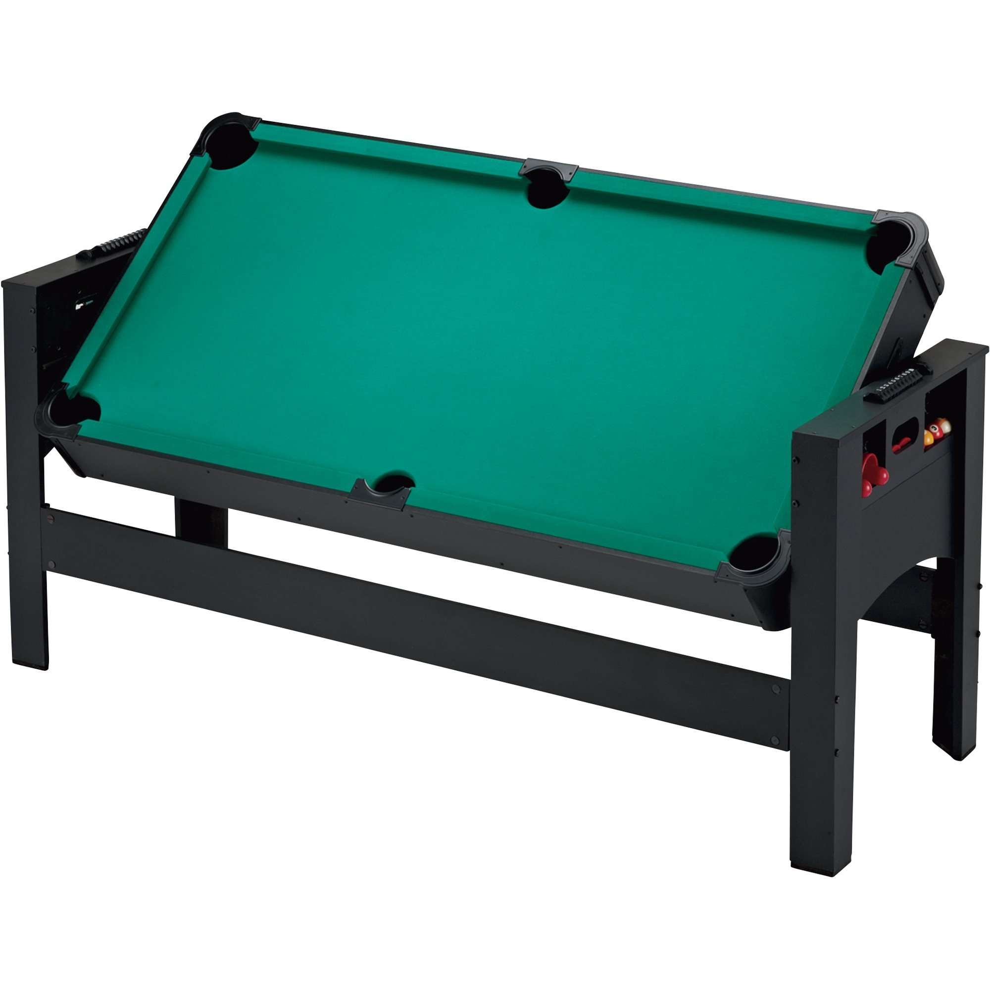 Fat Cat Original 2-in-1, 7-Foot Pockey Game Table (Air Hockey and Billiards) by Fat Cat by GLD Products