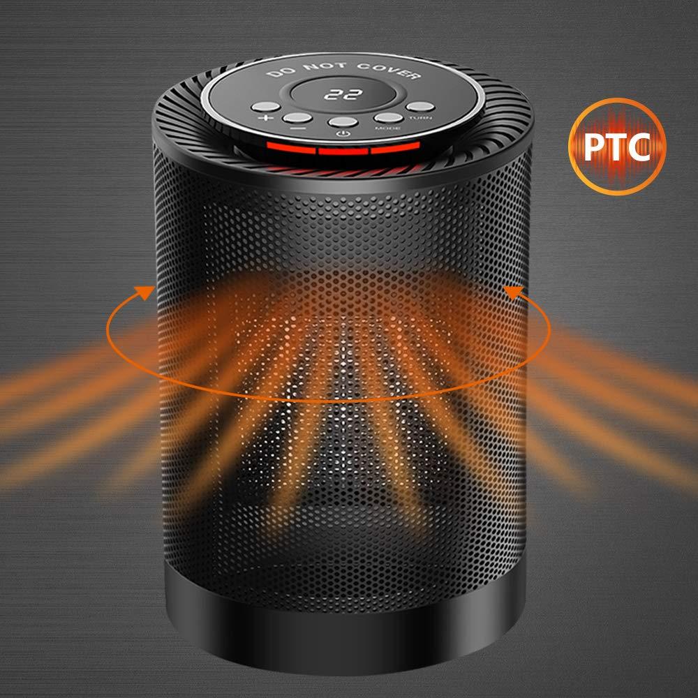 Portable Electric Space Heater 1200W PTC Ceramic Heater