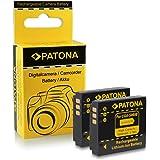 2x Batterie Panasonic CGA-S005 / Fuji NP-70 / Leica BP-DC4 / Pentax D-Li106 / Ricoh DB-60 | DB-65 pour Panasonic Lumix DMC-FC01 | DMC-FX01 | DMC-FX3 | DMC-FX07 | DMC-FX8 | DMC-FX9 | DMC-FX10 | DMC-FX12 | DMC-FX50 | DMC-FX100 | DMC-FX150 | DMC-LX1 | DMC-LX2 | Fuji FinePix F20 | FinePix F40 | FinePix F40fd et bien plus encore…