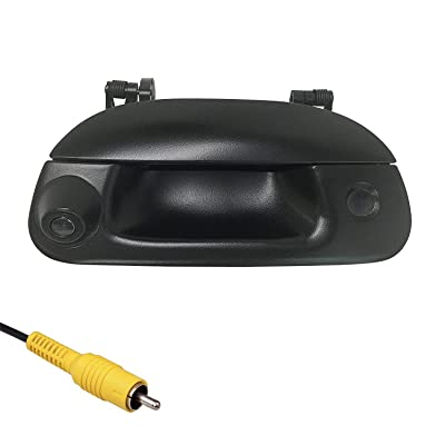 Master Tailgaters Replacement for Ford 1997-2007 F150 F250 F350 F450 F550 Tailgate Backup Reverse Handle with Camera (Key Hole Plug): Car Electronics