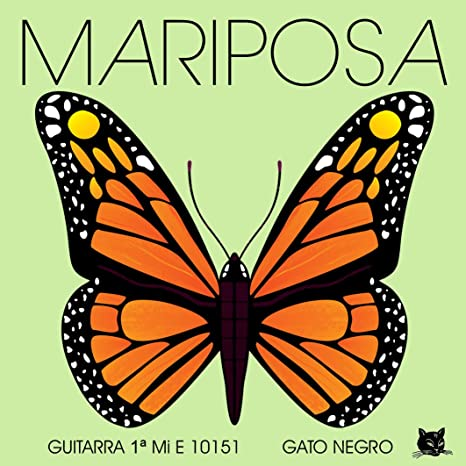 Juego de cuerdas Gato Negro Mariposa para guitarra clásica: Amazon ...