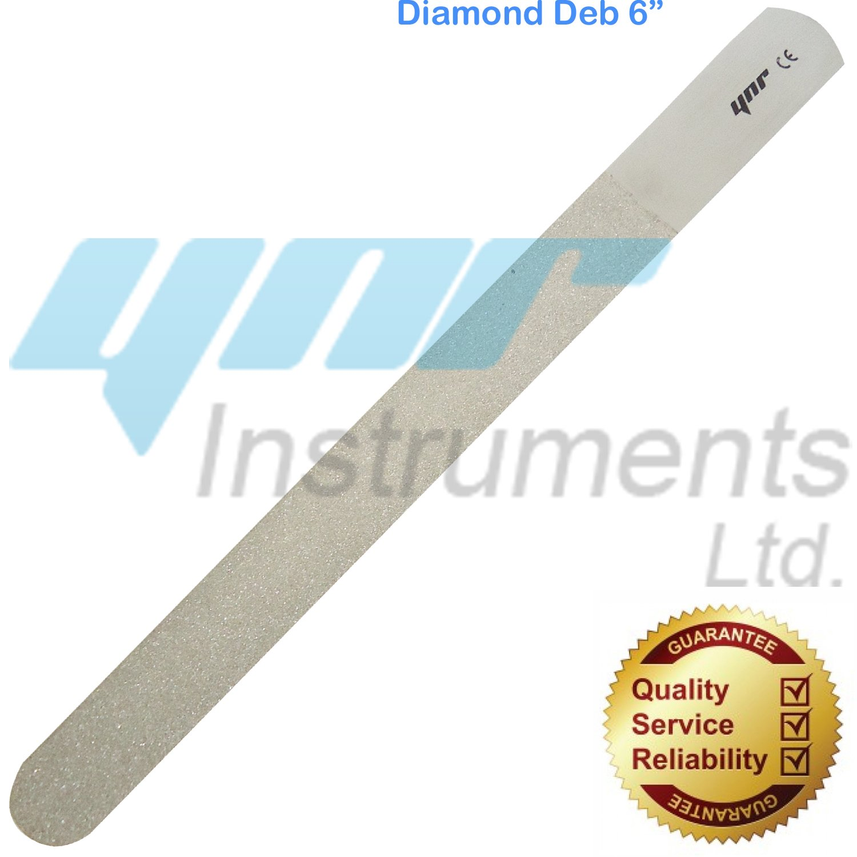 YNR - Diamant Fuß-Nagelfeile, Stahl - Silber, Diamant 15.25cm ...