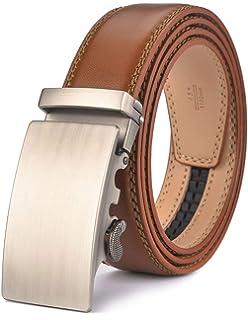 f7070b40d016f4 WETOPER Herren Gürtel Ratsche Automatik Gürtel für Männer 35mm Breit  Ledergürtel …