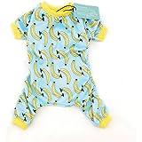 CuteBone Dog Pajamas Banana/Strawberry Dog Apparel Dog Jumpsuit Pet Clothes Pajamas P060230