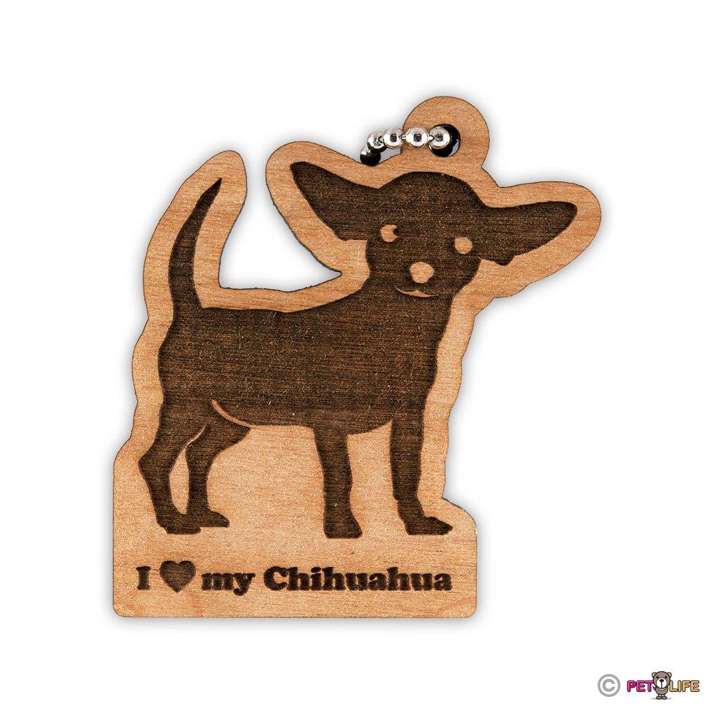Amazoncom I Love My Chihuahua Keychain Key Chain Keys Charm Mister
